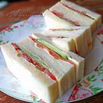 コーヒーの田中 - 野菜サンド