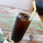 ファミリア - ランチのドリンク(アイスコーヒー)