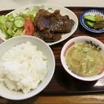 ろざん - 牛肉焼肉定食(840円)