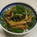 ろざん - 豚とピーマン炒め(730円)