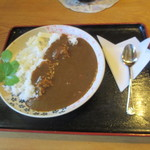 明日葉奈良 - 料理写真:明日葉カレー 1000円