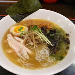 丸千製麺 - 【数量限定】磯の香りの鶏煮干そば(850円)