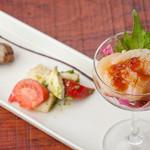 Bar 甑 - 前菜3種盛り