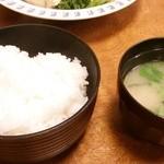 28752412 - 定食のご飯