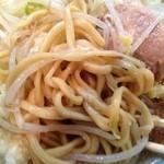 28753580 - 少なめラーメン麺拡大