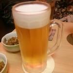 なずな - 生ビール