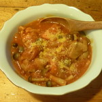 松美屋 - 鶏肉のトマト煮