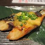 三浦鮮魚直売所 - サバの葱味噌焼き