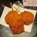 三浦鮮魚直売所 - マグロ串カツ