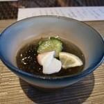 百名伽藍 - モズク酢
