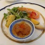 春蘭門 - 前菜4種盛り