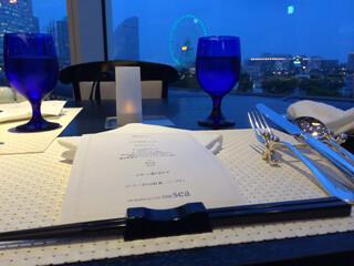 下町 DINING & CAFE THE sea - 席から見える夜景