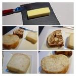28762084 - パン3種・・最初に3種類のパンが出されるのは珍しい。どれも好みでした。