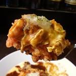トムアンドジェリー - 3種類のチーズと卵にデミグラスソースとケチャップライスのハーモニーが美味しいです