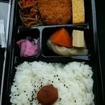 料理亭 - 2014.07コロッケ弁当(310円)