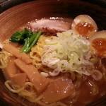 天虎 - 醤油ラーメン(ばり三五)※味玉サービス2014.7.4