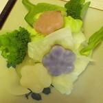 やすこの夢茶屋 - 蒸し野菜
