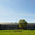ぼちぼちいこか増毛舘 - 旧増毛小学校は堂々とした木造校舎です