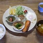 ぼちぼちいこか増毛舘 - 朝食メニュー
