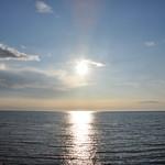 ぼちぼちいこか増毛舘 - 日本海に夕日が沈みます