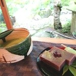 風楽 - 料理写真:抹茶セット♪450円