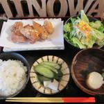 虹和 - 鶏の唐揚げ定食