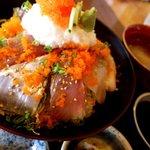 平野鮮魚 - タチウオとマグロ