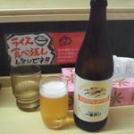 豚骨番長 - 瓶ビール(500円):中瓶(500ml)です