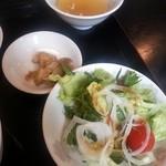 中華料理 瀋陽飯店 - 魚介のXO醤炒め定食3