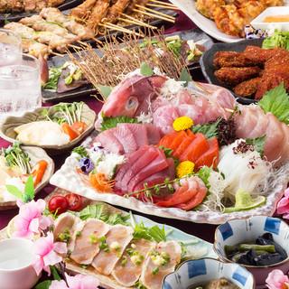 最大3時間飲み放題付コースは2480円~!食べ放題コースも!