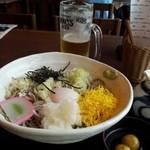 そじ坊 - ぶっかけそば&朝Beer!