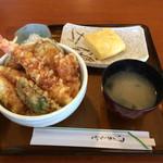 28776428 - ランチ 天丼 出汁巻き卵