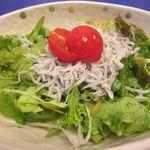 串ぎゅう - しらすサラダ