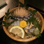 ふじこう - 料理写真:あわび刺身