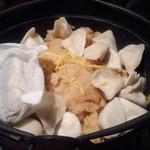 28780843 - 餃子鍋(濃厚鶏スープ)