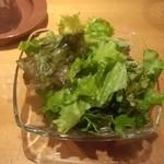溶岩焼肉ダイニング bonbori - サラダ