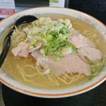 28784061 - 満洲味・塩ラーメン大盛り(2014.03)