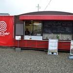 マキカフェ - グリーンランド通り沿いの店舗です。
