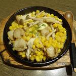 安乍希 - ホタテとキノコのコーンバター(620円)