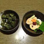 安乍希 - カンガラ(580円)と あん肝ポンズ(680円)