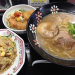 餃子の王将 - ラーメンセット ¥980