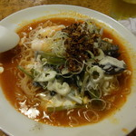 太陽のトマト麺 - 夏ココナッツ海老トマ冷麺880円也