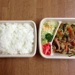 ほっかほっか亭 - ほっかほっか亭 豚の鉄板焼き弁当 ¥530円