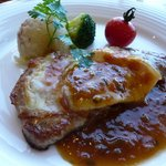 レストラン アレイ - 豚のチーズ焼き
