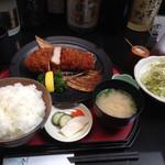 28790502 - 厚切りロースカツ膳(ご飯大盛)