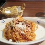 28791604 - パスタランチ(850円)色んなキノコのトマトソース