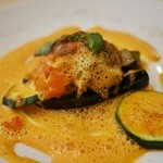 28792745 - 鯒のオーブン焼き、スープドポワソン (2014,7)