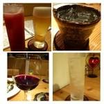 28794501 - ◆「ビール」「カシスオレンジ」「問わず語らず名もなき焼酎(芋)」「モスコミュール」「赤ワイン」