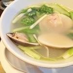 28794567 - 絶品スープはまぐり麺