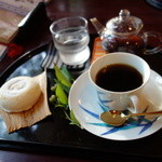 28795710 - 今右衛門のカップで、エル・サルバドルのサンタリタ農園のスペシャリティコーヒー